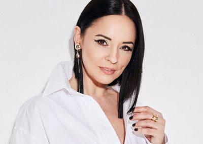 Andreea Marin a debutat in televiziune la TVR Iasi