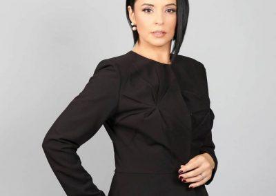 Andreea Marin a fost timp de trei ani editor si prezentator al jurnalului de la TVR