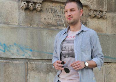 Bogdan Miu a fost pasionat de muzica inca din liceu