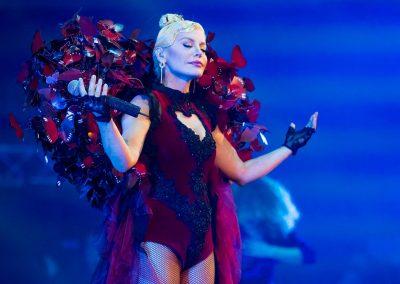 In anul 2007 Loredana a cantat in deschiderea concertului lui George Michael de la Bucuresti