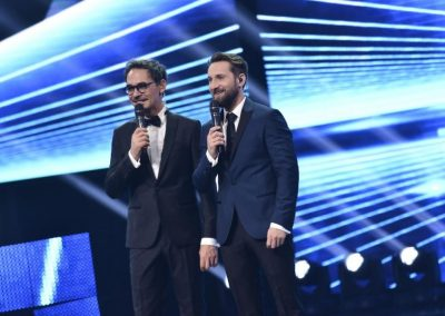 Razvan si Dani au ca vis sa realizeze un late-night show
