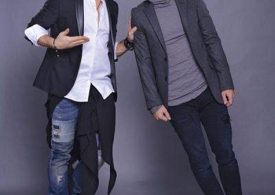 Razvan si Dani au debutat initial ca prezentatori la radio