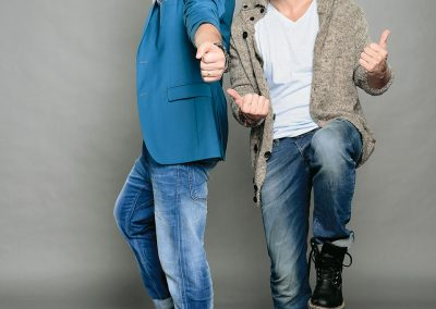 Razvan si Dani au inceput sa lucreze in radio de la 16 ani
