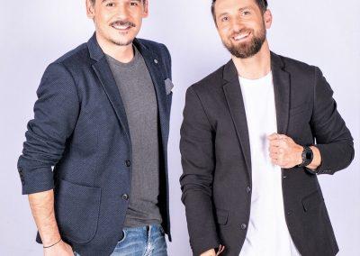 Razvan si Dani prezinta matinalul la postul tv Antena 1