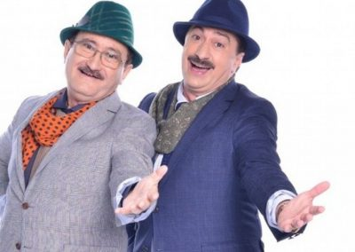 Romica Tociu si Cornel Palade formeaza un vechi cuplu de actori-prezentatori