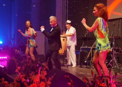 wilmark entertainer la eveniment Palatul Parlamentului