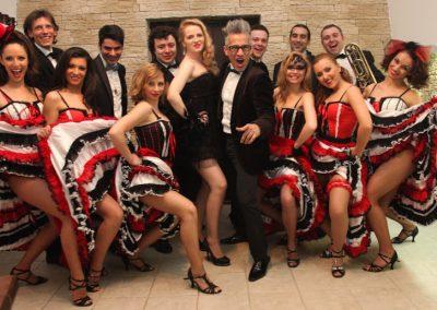 wilmark entertainer la petrecere tematica Cabaret party