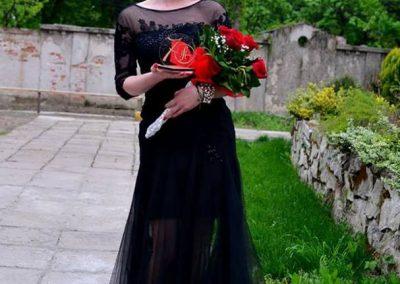 Dorina Vasilashko a fost indrumata in cariera de tatal ei